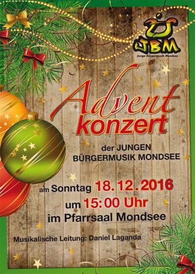 Adventkonzert - Junge Bürgermusik Mondsee