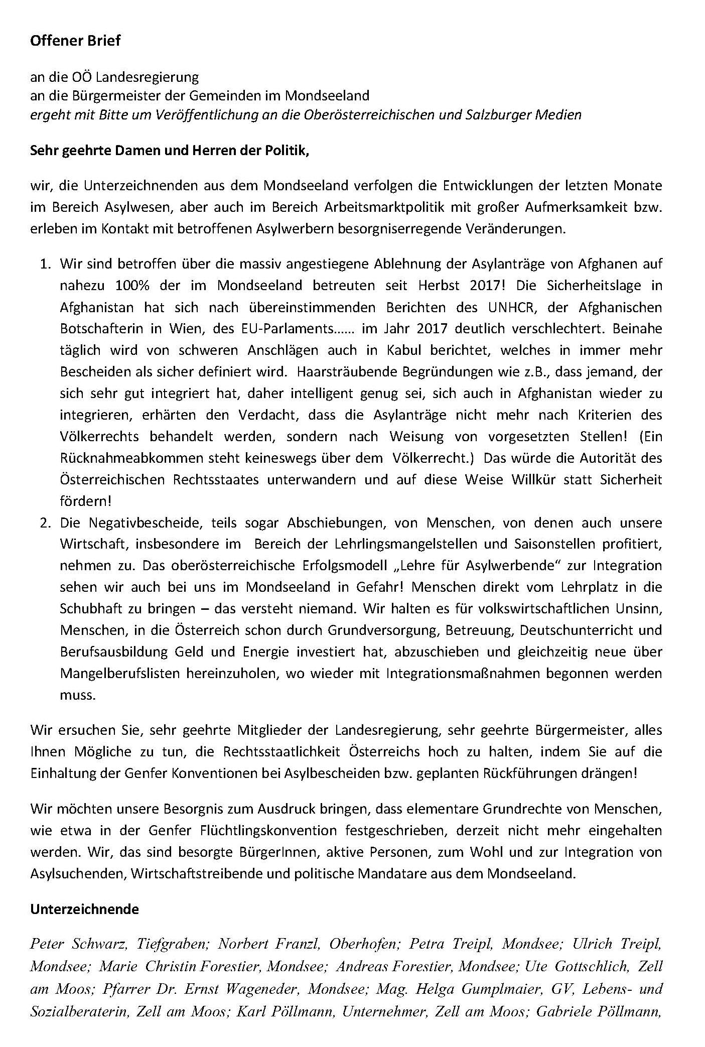 offener Brief an OO Seite 1