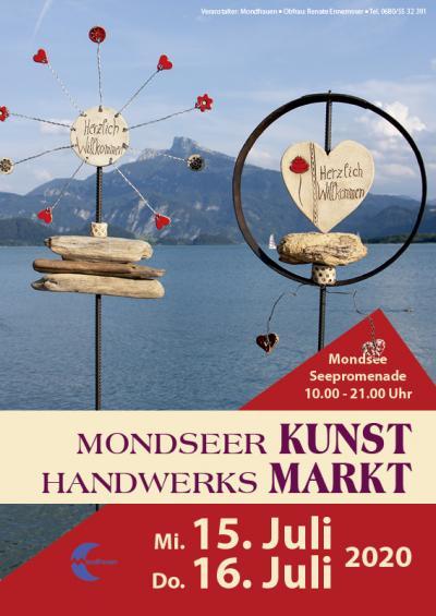 Kunsthandwerksmarkt Mondsee 2020