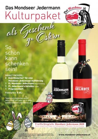 Mondseer JEdermann - Ostern - Plakat A4