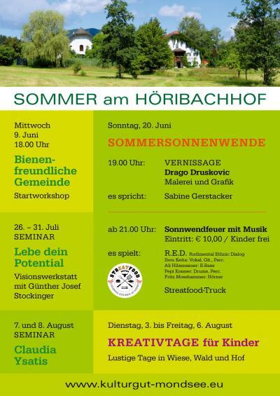 Sommer am Höribachhof