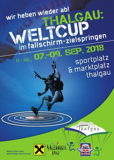 Fallschirm Weltcup Thalgau