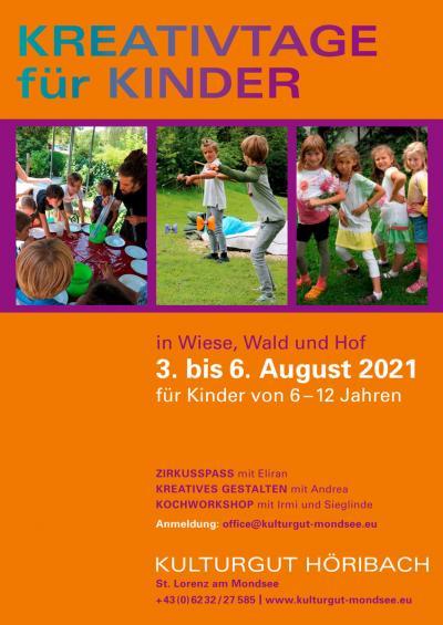 Kreativtage für Kinder 2021