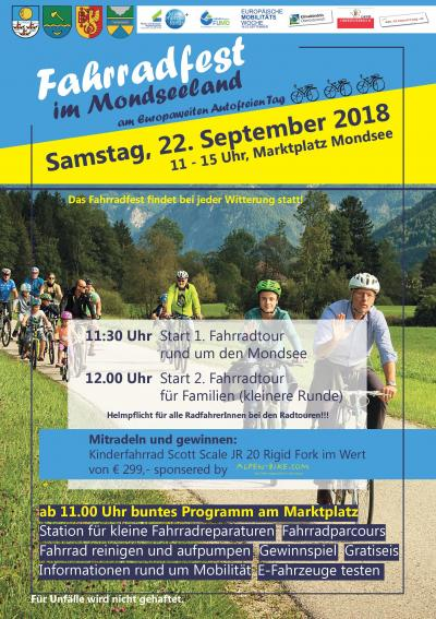 Fahrradfest Mondsee