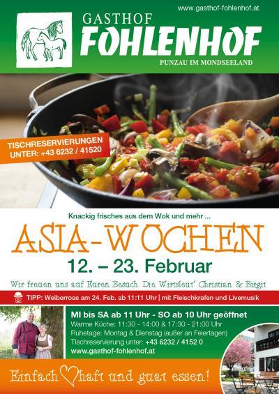 ASIA-Woche Gasthof Fohlenhof
